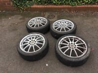 """17"""" alloys and good tyres"""
