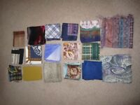 Quality scarves variety of colours, designs and sizes for collection Edinburgh very good condition