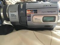 Sony digital video camera recorder.