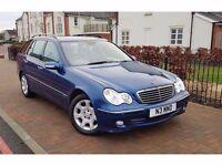 2005 Mercedes-Benz C Class 1.8 C180 Kompressor Elegance SE 5dr **SERVICE HISTORY+2 OWNERS**