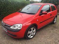 Vauxhall Corsa 1.7dti Red 2002