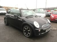 MINI Convertible 1.6 One Sidewalk 2dr 2008+FULLY SERVICED+FULL LEATHER+PARKING SENSORS+12 MONTH MOT!