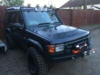 2000 Land Rover Discovery 4.0 V8 Manual with LPG