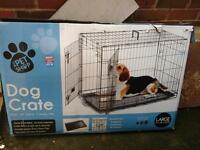 NOW SOLD dog cage/ crate