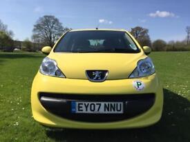 Peugeot 107 Automatic 2007**One Year MOT**Two keys**Bluetooth