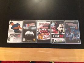 PSP games and short movie