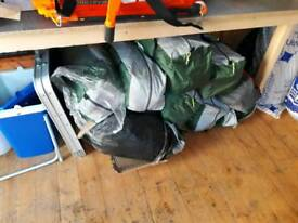 REDUCED joblot tents untested