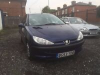 PEUGEOT 206 1.2 3DOOR LONG MOT