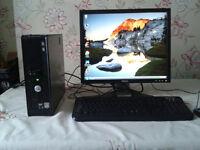 Refurbished Dell Full Computer Setup