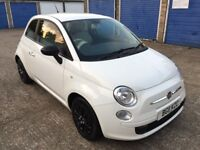 FIAT 500 1.2 / LOW MILEAGE / FULL SERVICE HISTORY / CHEAP INSURANCE & TAX / IDEAL FIRST CAR