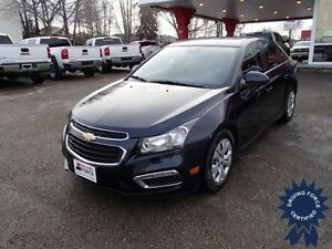 2015 Chevrolet Cruze LT Front Wheel Drive - 44,358 KMs, 1.4L Gas