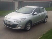 2010 60reg Renault Megane 1.5 dCi Dynamique 5dr (Tom Tom)**ONE OWNER**HIGH MILES**FSH**12 month mot