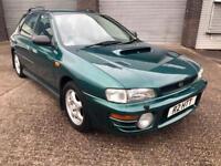 "1997/R Subaru Impreza 2.0 Turbo 2000 AWD Sport Wagon ""Rare Mileage"""