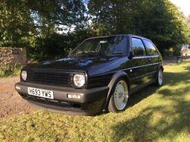 VW Mk2 Golf Gti 8V 1990 - Schwarz Black