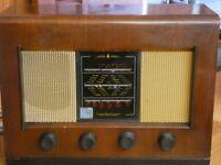 Vintage 1940s/1950s Bush valve radio