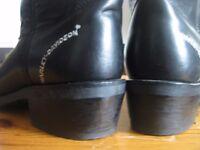 Harley Davidson cowboy style boots.