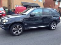 BMW X5 3.0D Auto in black