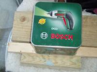 Bosch IXO 3.6v cordless screw driver