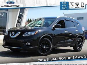 2016 Nissan Rogue SV**TECH*AWD* GPS*CAMERA*TOIT*BLUETOOTH*A/C*