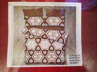 Louis Vuitton 4Pcs Bed set King Size Brown