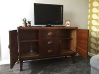 Sideboard contemporary retro solid wood in wonderful condition ideal shabby chic