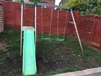 Swings & slide set
