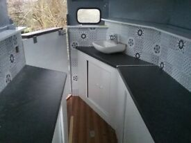 Horsebox Rice Trailer Catering Conversion IN LONDON YOU CHOOSE YOUR COLOUR