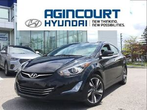 2014 Hyundai Elantra Limited/LEATHER/SUNROOF/BACKUP CAM/OFF LEAS