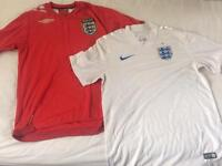 Mens England football shirts