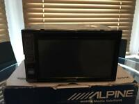 Alpine IVE-W585BT - Double Din Bluetooth CD/DVD Screen