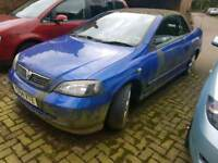 Vauxhaull astra convertable breaking, spares, parts