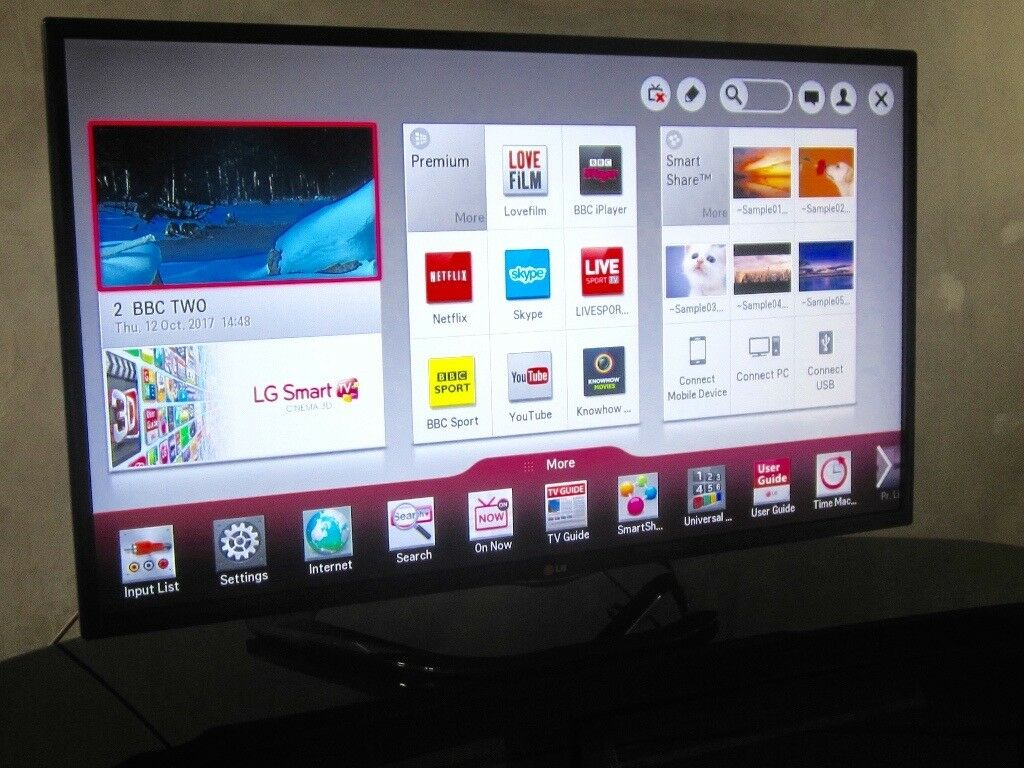 LG 42 inch LED Smart HD TV