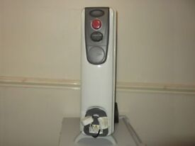 2000 Watts / 2000 Watts. GTE Oil Filled Radiator. A powerful heater suitable for 20 Sq M. £25.00
