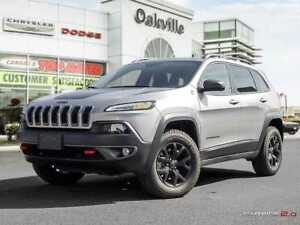 2017 Jeep Cherokee TRAILHAWK   NAVI   PANO ROOF   FORMER CO CAR