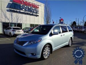 2015 Toyota Sienna XLE AWD 7 Passenger, 23,565 KMs, 3.5L V6 Gas