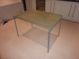 IKEA glass top table for sale