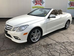 2011 Mercedes-Benz E-Class 350, Navigation, Leather, Convertible