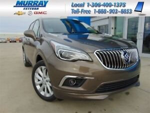 2018 Buick Envision *Heated front/rear seats *Heated wheel *Hand