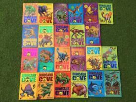 Dinosaur Cove books Author Rex stone