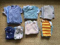 6 - 9 months baby clothes bundle