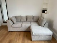 || BRAND NEW BYRON JUMBO CORD CORNER & 3+2 SOFA AVAILABLE IN STOCK || CASH ON DELIVERY ||