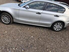 BMW 1 series 1.6 petrol breaking for parts