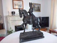 Hot Cast Figure of Mounted Napoleon Bonaparte