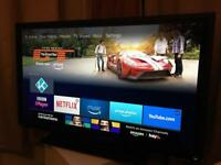 """40"""" TOSHIBA HD LED TV WITH HD FREEVIEW"""