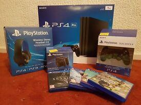 PS4 Playstation 4 pro 1tb