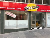 Chef required for Hell's Kitchen in Paisley, a new American diner.