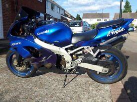 Kawasaki Ninja ZX9R C2 1999 899cc 8654 Miles
