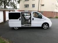 Vauxhall vivaro sport genuine crew cab van bus tragic connect transit