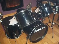 drumkit for sale.under a year old