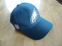 NFL licensed Eagles Cap in heavy cotton. New condition never worn